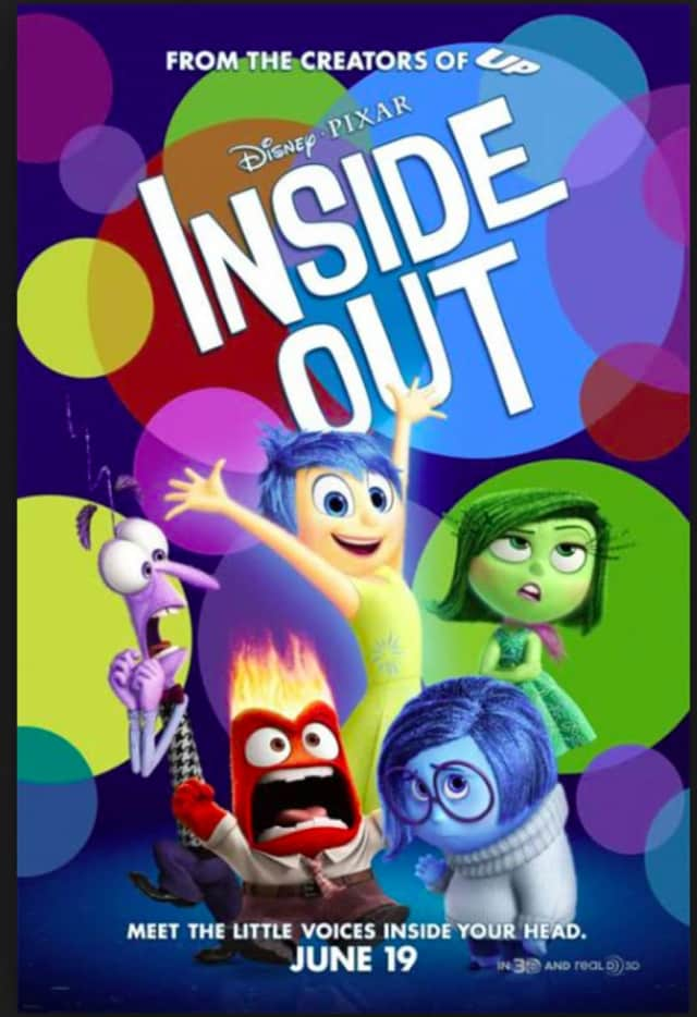 """Inside Out"" will be shown for free at Candlewood Lake in Danbury this summer."