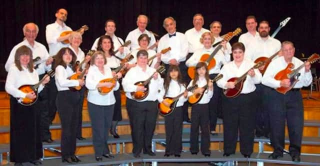 The Bloomfield Mandolin Orchestra will be performing at the Meadowlands Museum.