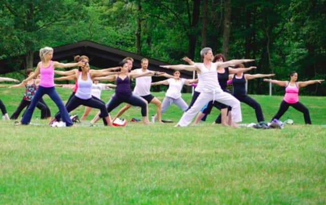 Join the Kaplen JCC for yoga in the field.