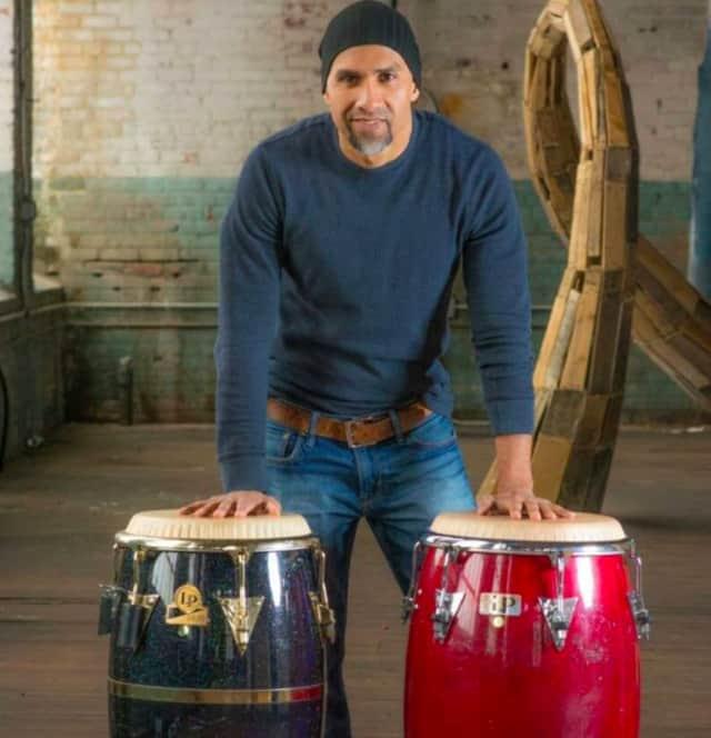 Larry Umaña of Ridgefield Park returns to perform a free salsa concert at McGowan Park
