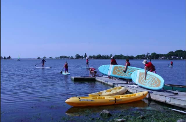The Darien YMCA is offering introductory paddleboard courses the weeks of July 7, 14 and 21.
