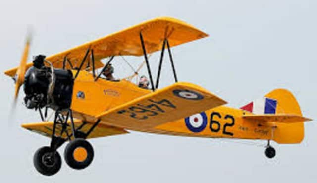 A Fleet Finch 16-B, similar to the one that was damaged Saturday in Rhinebeck.