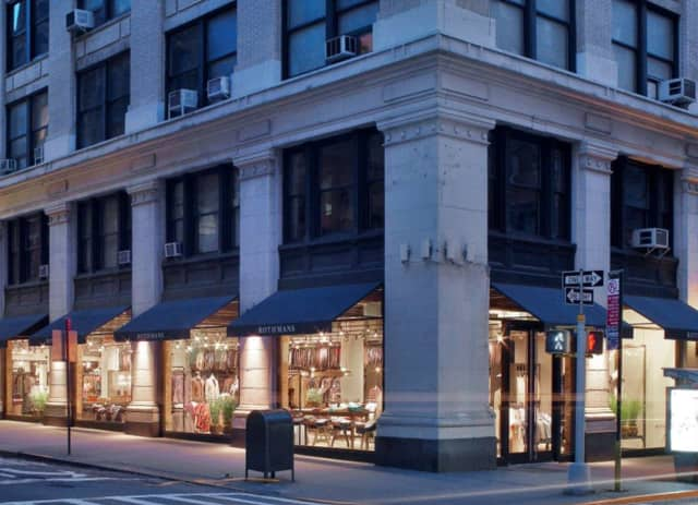 Rothmans is scheduled to open up a concept store in Bronxville on Aug. 15.