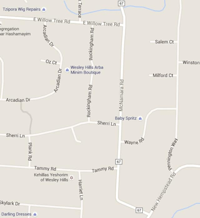 McNamara Road in Ramapo is scheduled to be resurfaced on Monday.