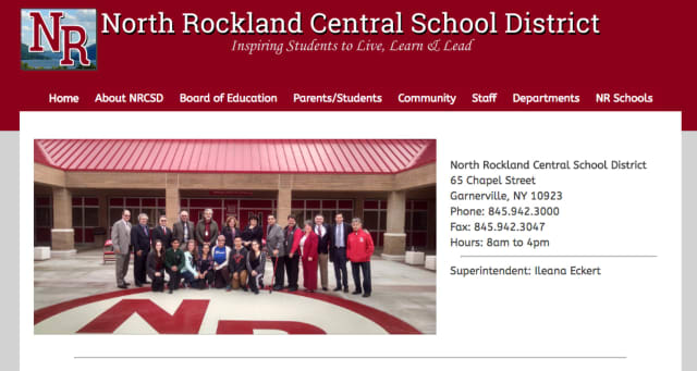 The North Rockland Central School District officially launched its new website, northrockland.org.