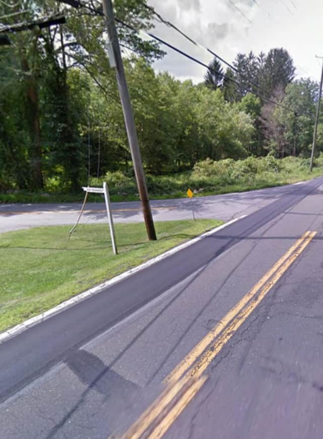 Route 124 at Old Stone Hill Road.