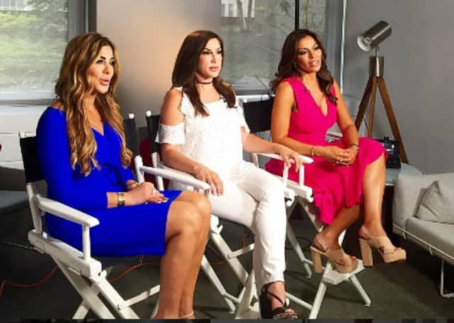 "From left: Siggy Flicker of Tenafly, Jacqueline Laurita of Franklin Lakes and Dolores Catania will be representing Bergen County in the seventh season of Bravo's ""Real Housewives of New Jersey."""