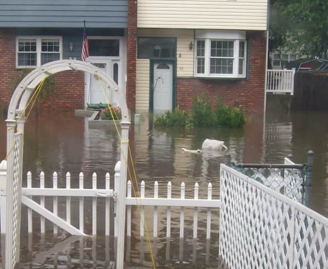 The impacted flood area is in the Squire Gate neighborhood.