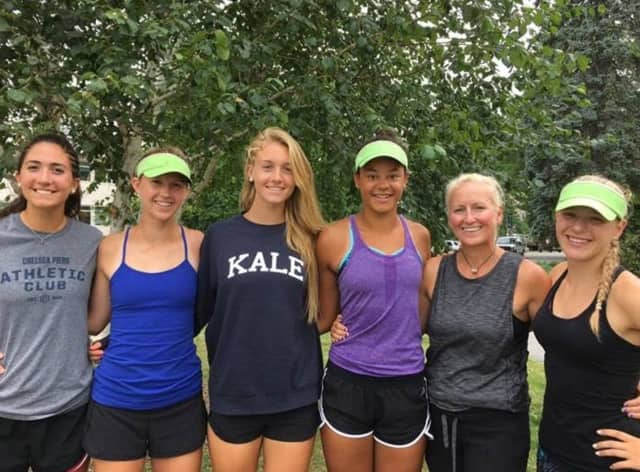 Girls from Norwalk-based Connecticut Boat Club were selected to national teams. See story for IDs.