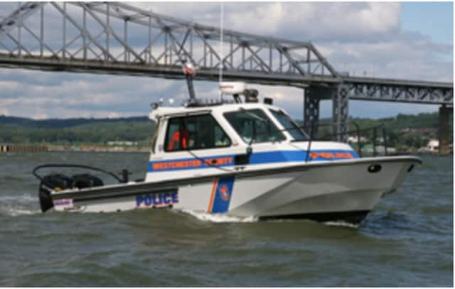 Irvington police and firefighters were called to the Hudson River on a report about a boat in trouble on Wednesday. Police rescued two man, one from Dobbs Ferry and one from New Jersey.