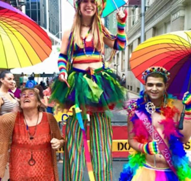 The SameSex Pride Walk in downtown Bridgeport