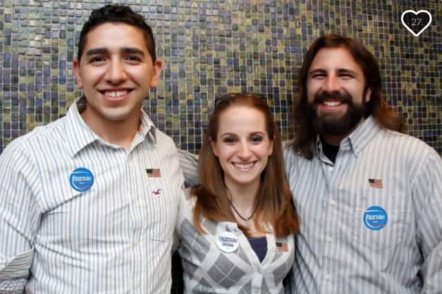 Chris Yerinides (far right) is using GoFundMe to help fund his trip to Democratic National Convention later this month.