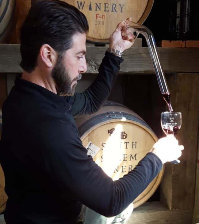 John Vuolo is the vintner of the newly-opened South Salem Winery.