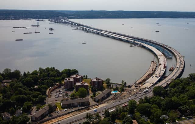 Steel girders will be going up on the Rockland County side of the new Tappan Zee Bridge this week.