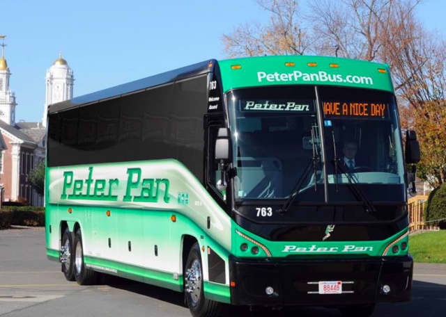 A transportation link using a Peter Pan bus will allow students at Naugatuck Valley Community College to travel between campuses in Danbury and Waterbury.