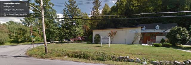 Faith Bible Church, Yorktown Heights, N.Y. The Yorktown Planning Board approved an application to demolish an existing unused building on the site.