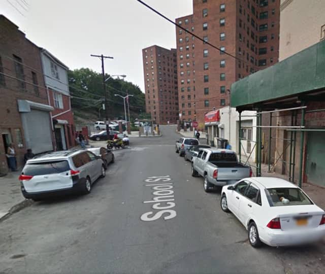 Yonkers police detectives are investigating a violent incident that took place on School Street Saturday morning.