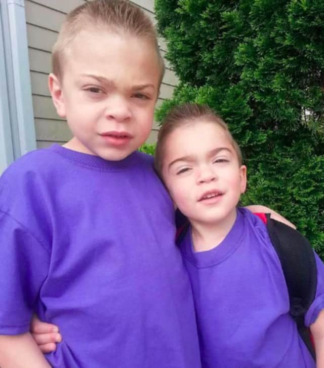 Jason and Justin Leider of Elmwood Park have been diagnosed with Hunter Syndrome.