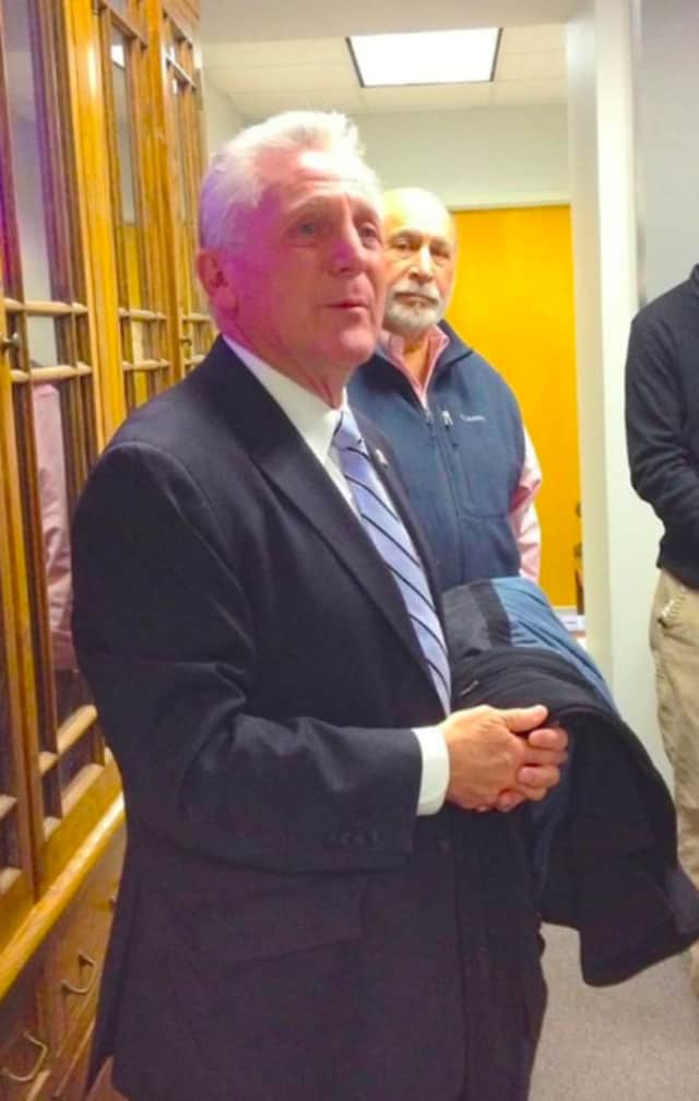 Norwalk Mayor Harry Rilling will visit the Norwalk Art Commission's new show at the Mayor's Gallery on Tuesday, July 19.