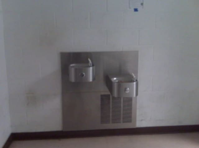 Water fountains are schools in North Rockland