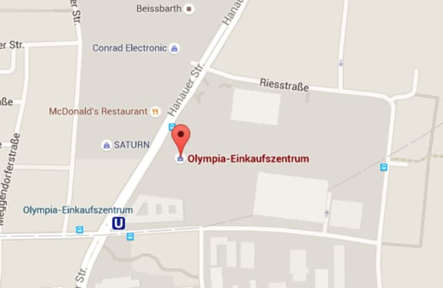 A fatal shooting spree was reported at the Olympia Shopping Center in Munich.