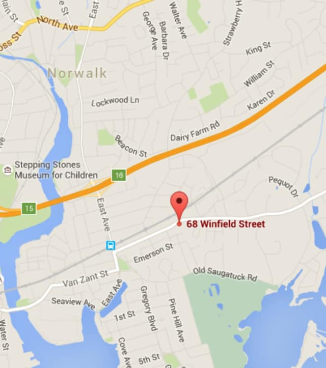 Officers responded to the area of Winfield Street for a report of shots fired at 12:43 a.m. early Saturday morning.