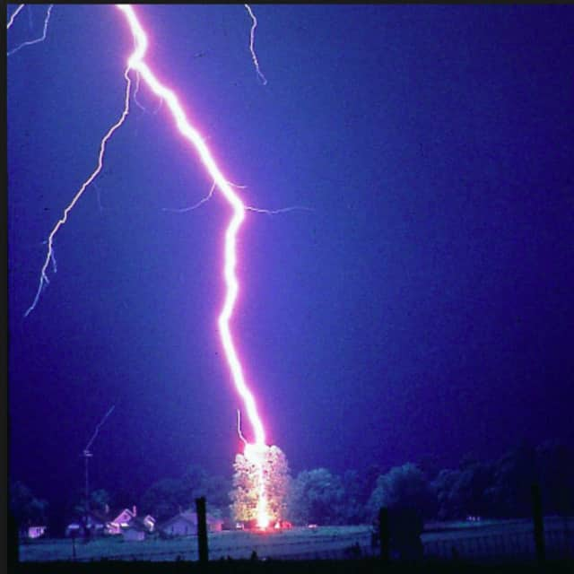 Thunder and lightning are expected to settle in Fairfield County late Monday afternoon, and remain in the region until late at night.