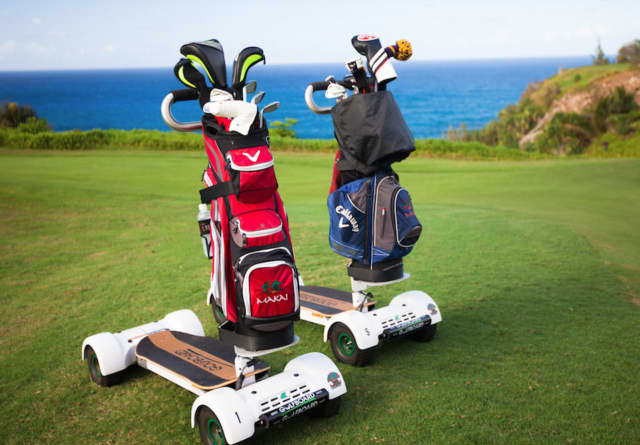 Golfboards are now available at the Links at Union Vale.