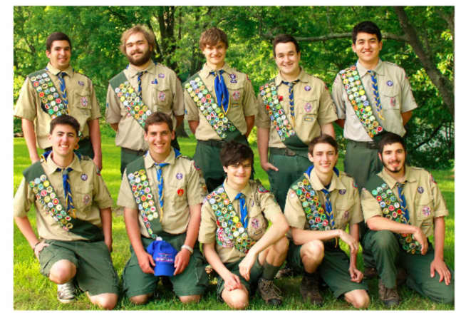 10 Eagle Scouts from New Fairfield