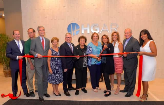 The Hudson Gateway Association of Realtors had a ribbon-cutting ceremony at its new location in White Plains.