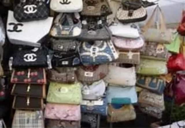 The sweep of counterfeit merchandise resulted in the seizure of 277 pieces of merchandise worth more than $50,000, according to Sheriff Louis Falco.