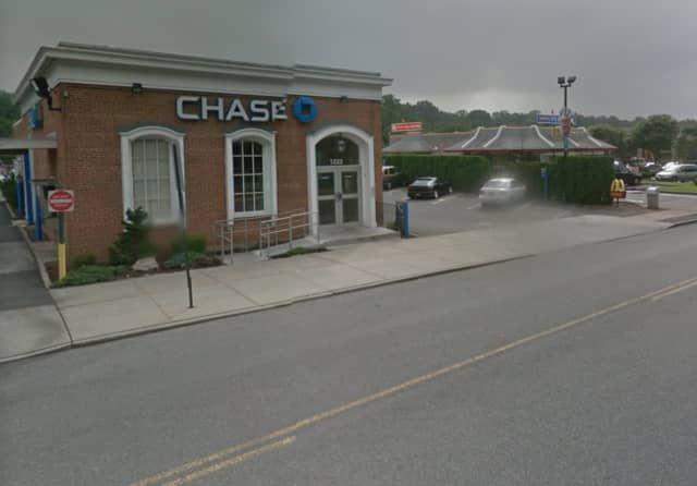 The Chase Bank branch at 1222 Nepperhan Ave.