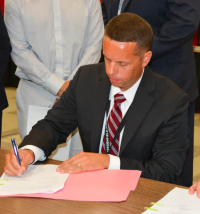 Acting Bergenfield Supt. of Schools Chris Tully was appointed superintendent of schools.