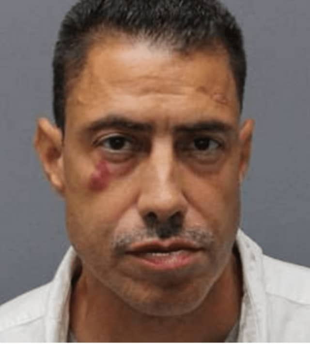 Victor Gaza of Brooklyn has been charged with two counts of bank robbery by Yonkers police.