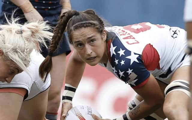 Ryan Carlyle from West Nyack plays rugby for Team USA.