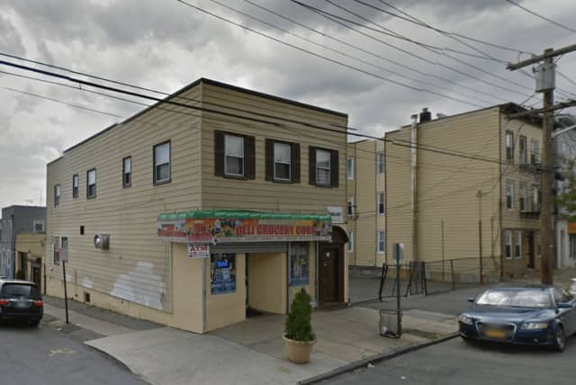 A Mexican national visiting family in New Rochelle was shot and killed by a stray bullet outside of Lachiquita Karina on Saturday.