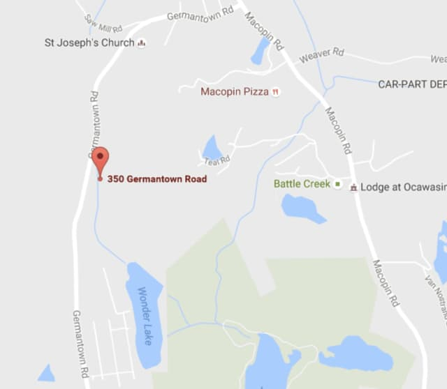 A woman was airlifted to a Morristown hospital from West Milford when she fell from her horse on Sunday.