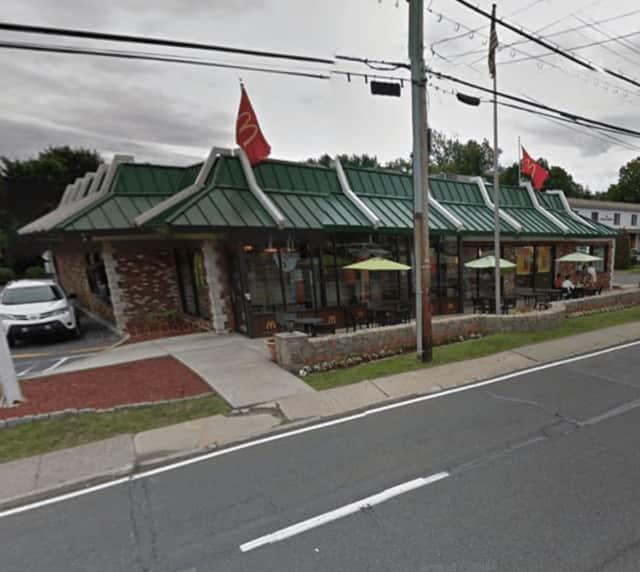 The McDonald's at Marble Avenue in Mount Pleasant.