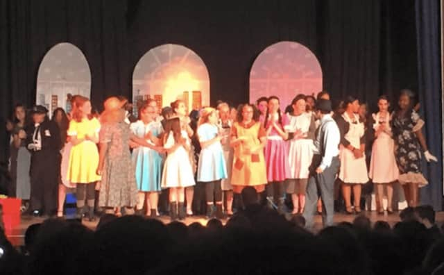 """The Lyndhurst middle schools production of """"Annie"""" received three nominations."""
