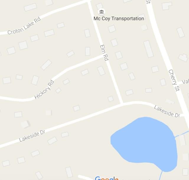 Elm Road in Katonah is near Croton Lake Road and Cherry Street.