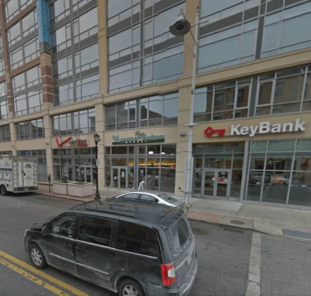 Key Bank at 66 Main Street in Yonkers.