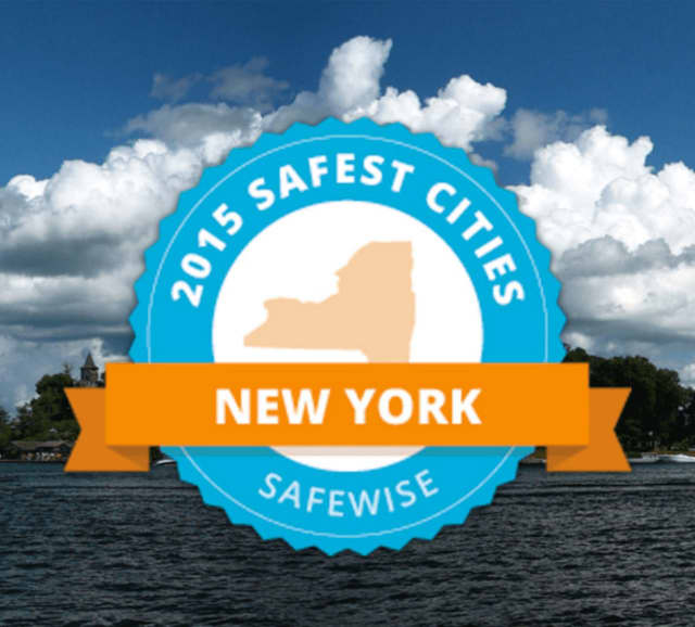 The survey of safest places to live was conducted by safewise.com, a home security business.