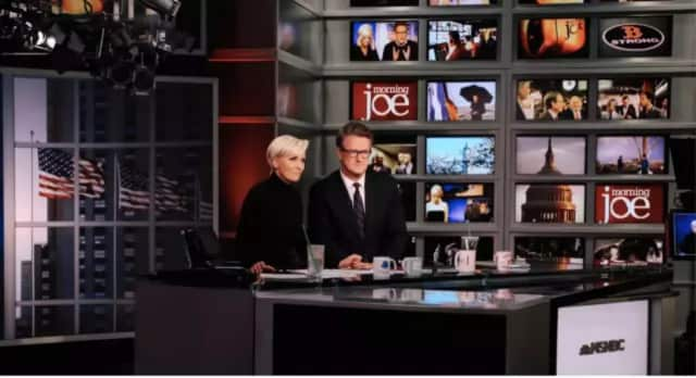 "Mike Brzezinski and Joe Scarborough, the co-hosts of ""Morning Joe"" are engaged."