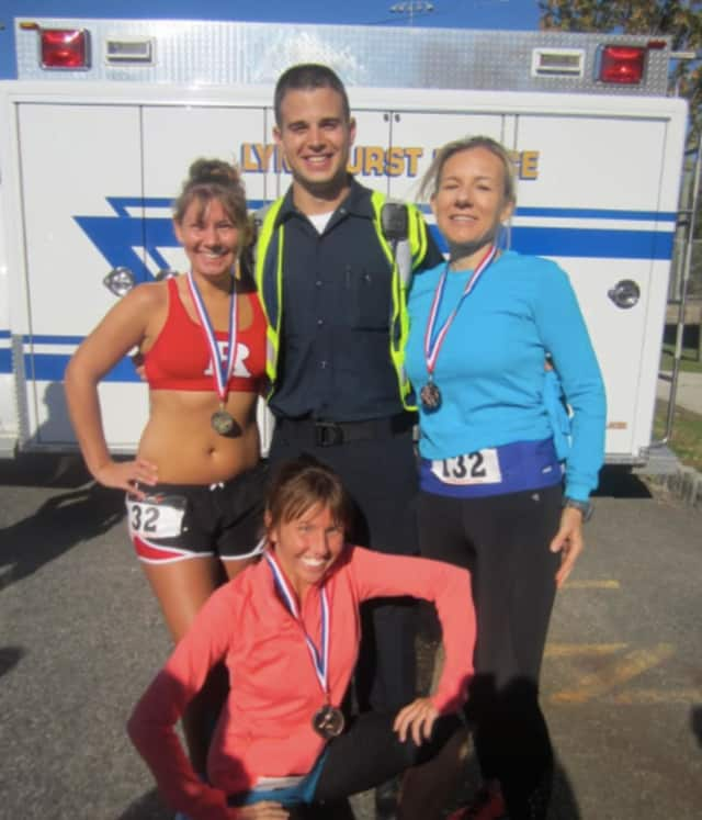 Previous medalists from the Lyndhurst Police Emergency Squad's annual 5K run/walk event.