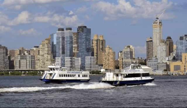 A new vessel with larger capacity was created specially for the Edgewater route, officials said.