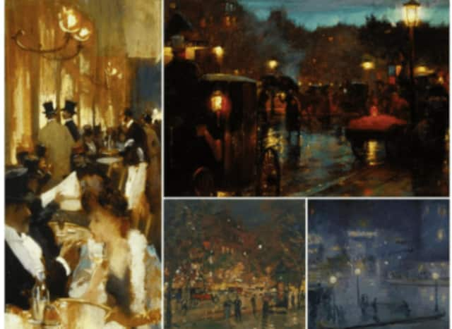 A sample of the works to be displayed at the exhibit.