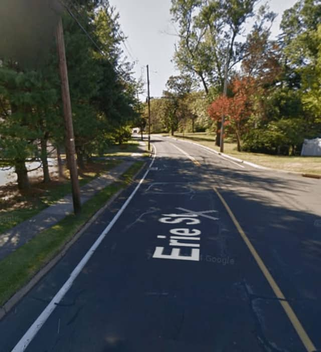 The underage teen was stopped on Erie Street in Blauvelt.