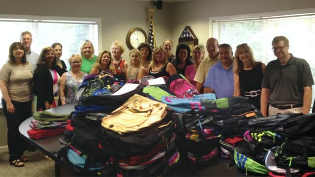 Waldwick's RealSource Association of Realtors Community Service Committee recently donated 200 backpacks to local students in need.