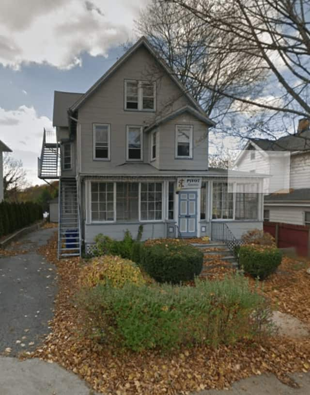 Neighbors oppose a plan to use the house at 17 Quintard Ave. in Norwalk as a prison re-entry facility.