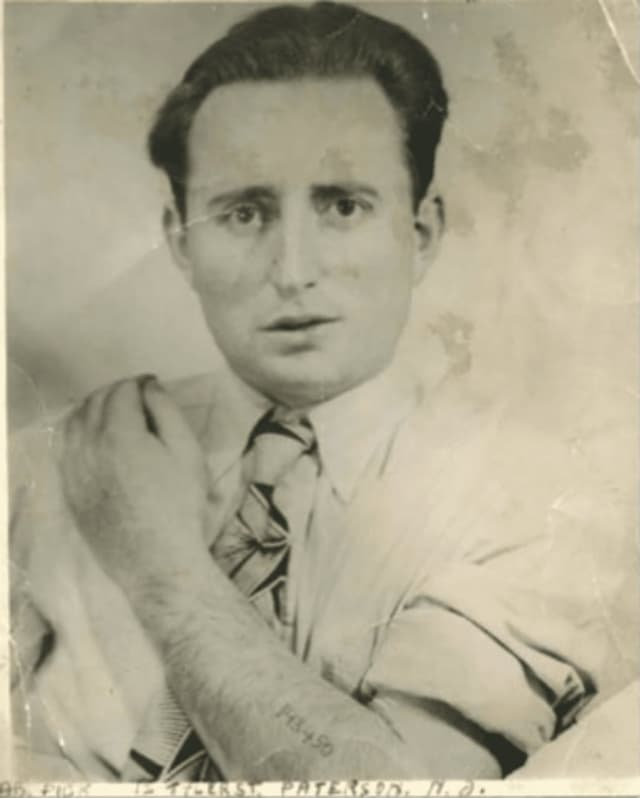 River Vale's Abraham Peck shortly after immigrating to Paterson following the Holocaust.